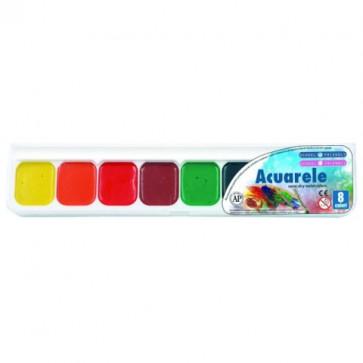 Acuarele, 8 culori/set, PIGNA