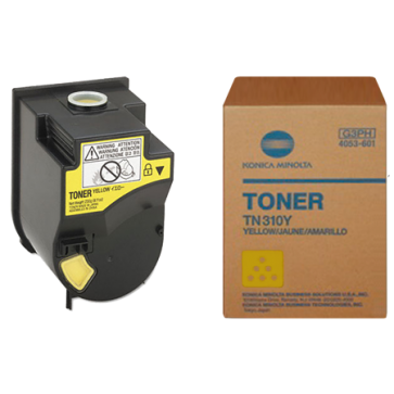 Toner, yellow, MINOLTA TN-310Y