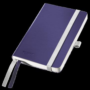 Caiet de birou, A6, dictando, coperta felxibila, albastru-violet, LEITZ Style