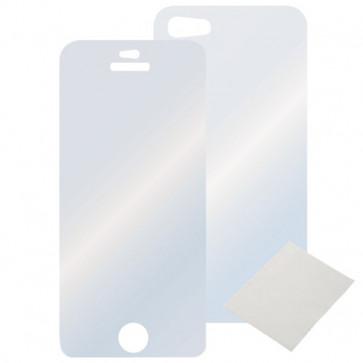 Set folie protectie fata / spate iPhone 5, HAMA
