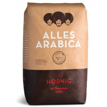 Cafea boabe, 500gr, J. HORNIG Alles Arabica