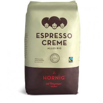 Cafea boabe, 1000gr, J. HORNIG Espresso Creme Bio