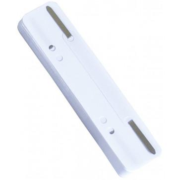 Alonja cu sistem de indosariere, sina metalica, alb, 25 buc./set, DONAU