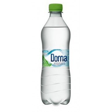 Apa minerala naturala, plata, 0.5L, DORNA Izvorul Alb