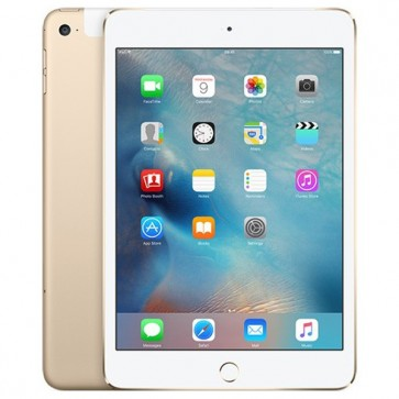 "APPLE iPad mini 4 64GB cu Wi-Fi + 4G, Dual Core A8, Ecran Retina 7.9"", Gold"