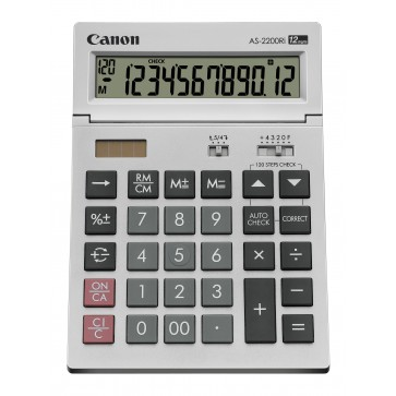 Calculator de birou, 12 digiti, CANON AS-2200Ri