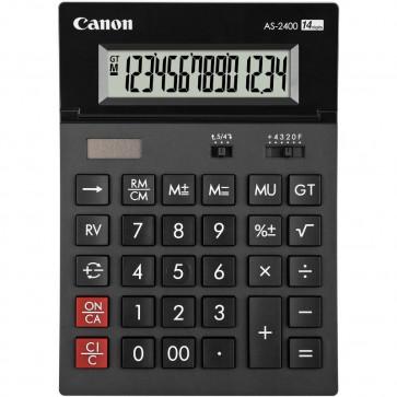 Calculator de birou, 14 digiti, CANON AS-2400