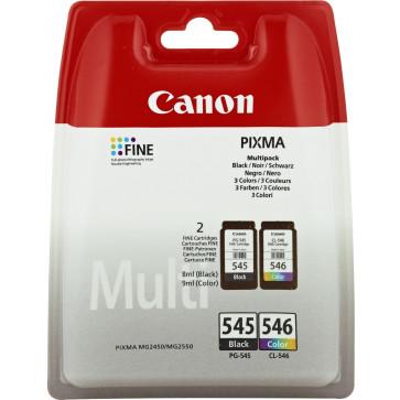 Set cartus, black + color, CANON PG545+CL546