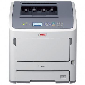 Imprimanta laser monocrom, OKI B721dn LED, A4, USB, Retea