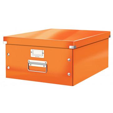 Cutie pentru arhivare, 369 x 200 x 484mm, portocaliu, LEITZ Click & Store