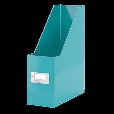Suport vertical pt. documente, turcoaz, LEITZ Click & Store