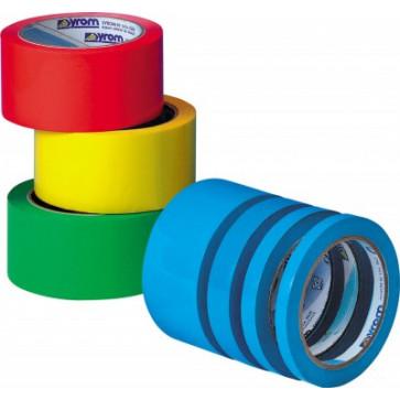 Banda adeziva, 12mm x 66m, albastru deschis, SYROM Syleco 238