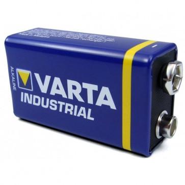 Baterie 9V, alcalina, VARTA Industrial