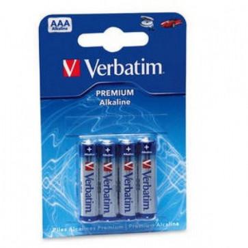 Baterie alcalina, 1.5V, AAA - LR03, 4 buc/set, VERBATIM Micro