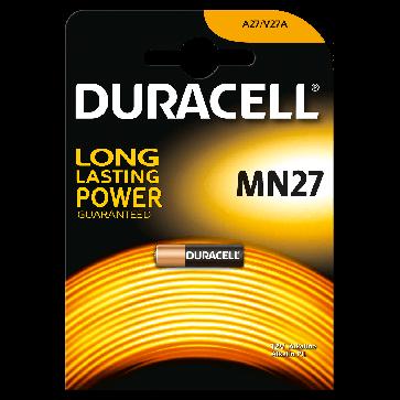 Baterie alcalina, 27A, MN27, 12V, 1 buc/blister, DURACELL