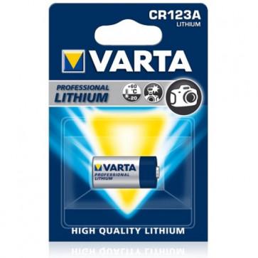 Baterie CR123A, litiu, VARTA