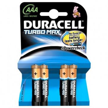 Baterii AAAK4, alcalina, 4 bucati, DURACELL Turbo Max Duralock
