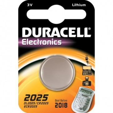 Baterii litiu CR2025, DURACELL