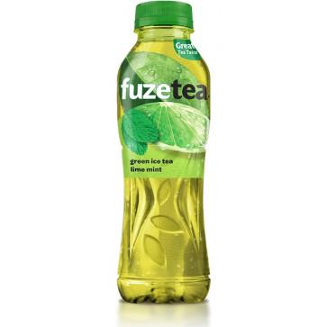 Bautura racoritoare, 500ml, FUZETEA Green Tea Lime Mint