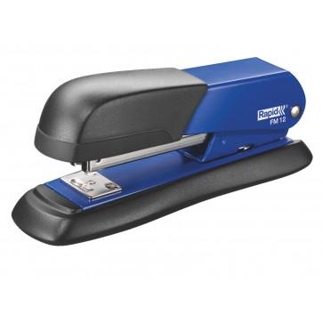 Capsator metalic de birou, pentru maxim 25 coli, capse 24-26/6, albastru, RAPID FM12 Halfstrip