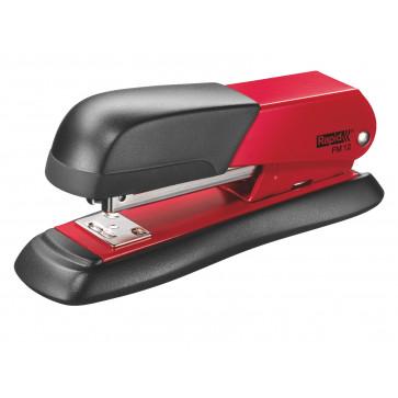 Capsator metalic de birou, pentru maxim 25 coli, capse 24-26/6, rosu, RAPID FM12 Halfstrip