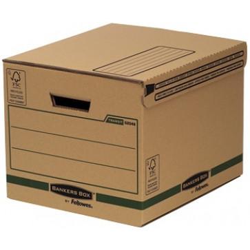 Container pentru arhivare, 287 x 334 x 377mm, kraft, FELLOWES
