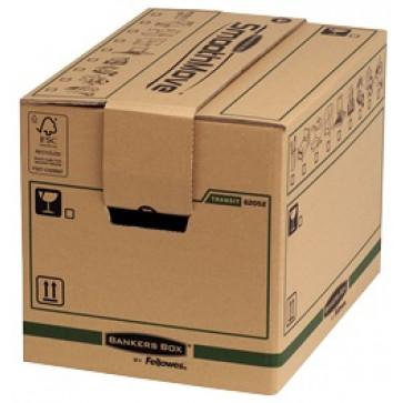 Container pentru arhivare, 304 x 304 x 406mm, kraft, FELLOWES SmoothMove