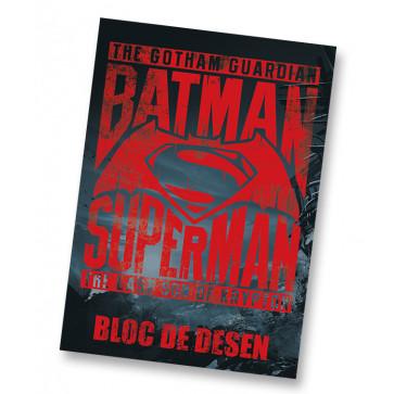Bloc de desen, A4, 16 file, 160g, PIGNA Premium Batman