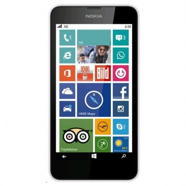"Smartphone Dual Sim, 4.5"""", 5MP, 4G, Wi-Fi, Bluetooth, black, NOKIA Lumia 630"