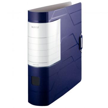 Biblioraft, 8.0cm, albastru, LEITZ 180° Active Prestige