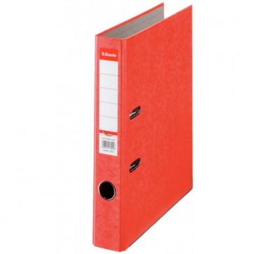 Biblioraft din carton prespan, 5.0cm, rosu, ESSELTE Rainbow
