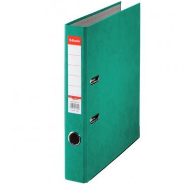 Biblioraft din carton prespan, 5.0cm, verde, ESSELTE Rainbow