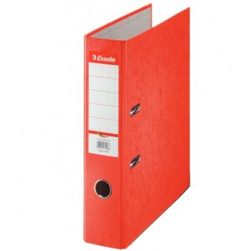 Biblioraft din carton prespan, 7.5cm, rosu, ESSELTE Rainbow
