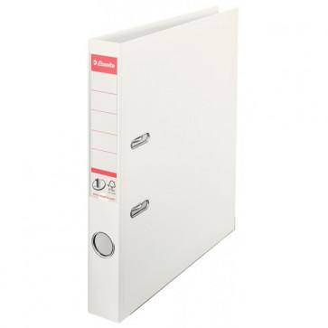 Biblioraft dublu plastifiat, 5.0cm, alb ESSELTE No. 1 Power VIVIDA