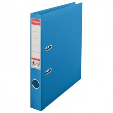 Biblioraft dublu plastifiat, 5.0cm, albastru, ESSELTE No. 1 Power VIVIDA