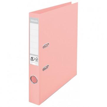 Biblioraft dublu plastifiat, 5.0cm, culoarea piersicii, ESSELTE  No. 1 Power