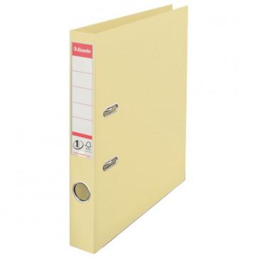 Biblioraft dublu plastifiat, 5.0cm, culoarea scoicii, ESSELTE  No. 1 Power