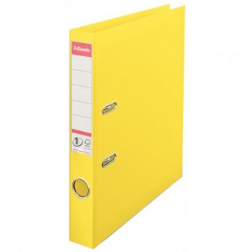 Biblioraft dublu plastifiat, 5.0cm, galben, ESSELTE  No. 1 Power VIVIDA