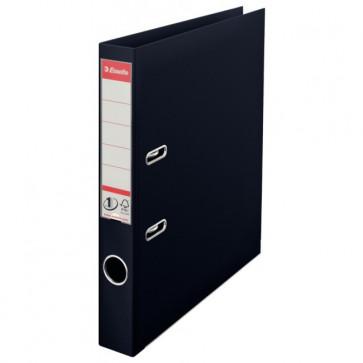 Biblioraft dublu plastifiat, 5.0cm, negru, ESSELTE No. 1 Power VIVIDA