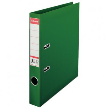 Biblioraft dublu plastifiat, 5.0cm, verde, ESSELTE  No. 1 Power
