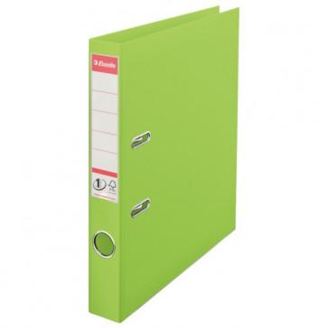 Biblioraft dublu plastifiat, 5.0cm, verde, ESSELTE  No. 1 Power VIVIDA
