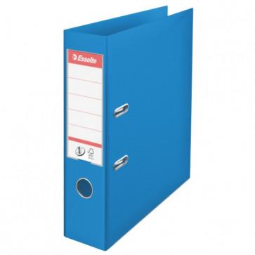 Biblioraft dublu plastifiat, 7.5cm, albastru, ESSELTE  No. 1 Power VIVIDA