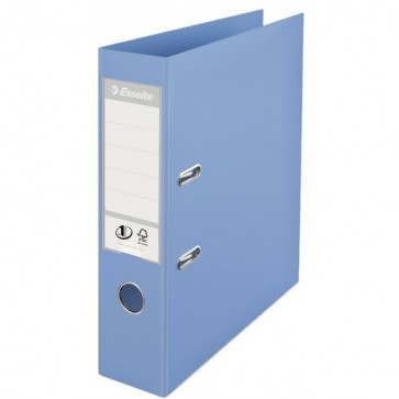 Biblioraft dublu plastifiat, 7.5cm, bleu, ESSELTE  No. 1 Power
