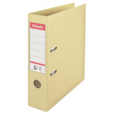 Biblioraft dublu plastifiat, 7.5cm, culoarea scoicii, ESSELTE No. 1 Power