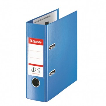 Biblioraft dublu plastifiat, A5, 7.5cm, albastru, ESSELTE No. 1 Power VIVIDA