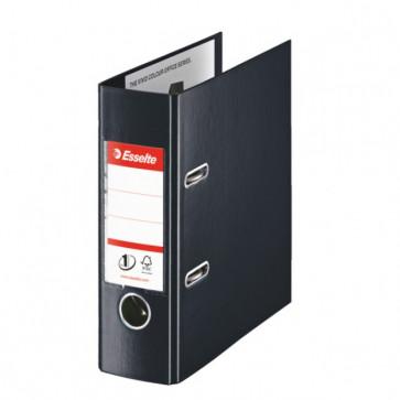 Biblioraft dublu plastifiat, A5, 7.5cm, negru, ESSELTE No. 1 Power VIVIDA