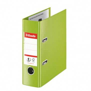 Biblioraft dublu plastifiat, A5, 7.5cm, verde, ESSELTE No. 1 Power VIVIDA