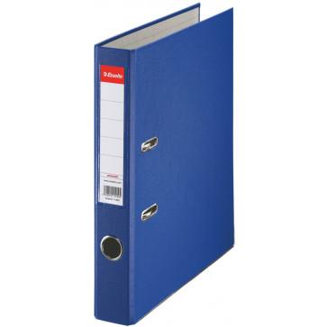 Biblioraft plastifiat, 5.0cm, albastru, ESSELTE Economy