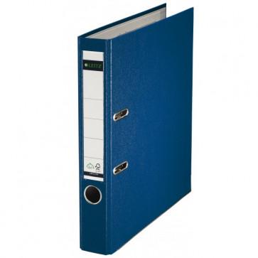Biblioraft plastifiat, 5.2cm, albastru, LEITZ 180°