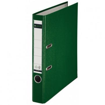 Biblioraft plastifiat, 5.2cm, verde, LEITZ 180°